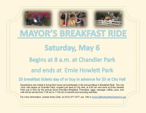 2017 Mayor's Breakfast Ride